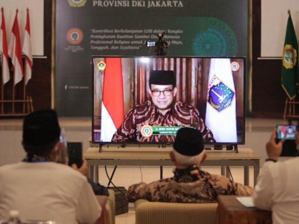 Musyawarah Wilayah DPP LDII DKI Jakarta Di Buka Oleh Gubernur Anies Baswedan