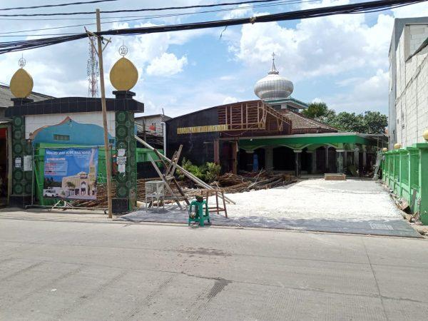 PAC LDII ROROTAN Membantu Pembanguan Masjid