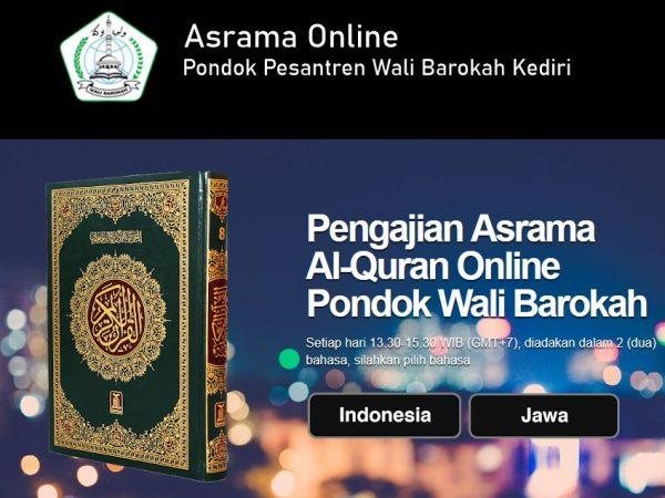 Pengajian Asrama Hadis Online Ponpes Wali Barokah Kediri