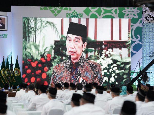 Buka Munas IX LDII, Presiden Ajak Ormas Islam Moderasi dalam Beragama