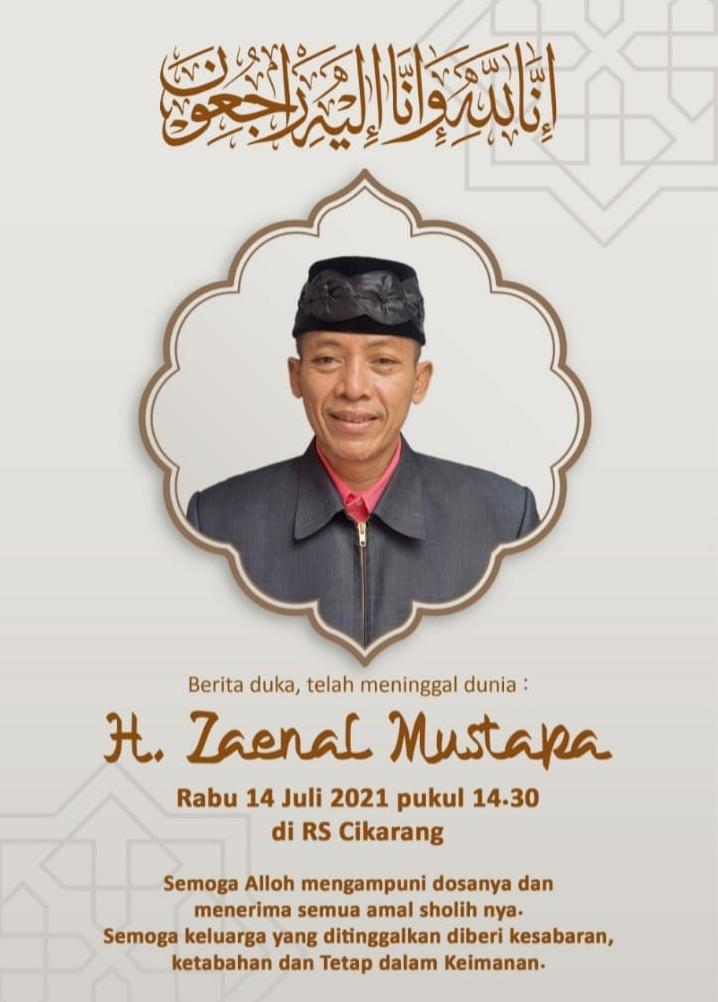 KH.Zainal Mustofa Bin Abdul Jalal